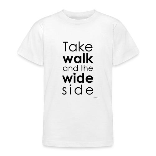 LOU-REDD-walk-black - T-shirt Ado