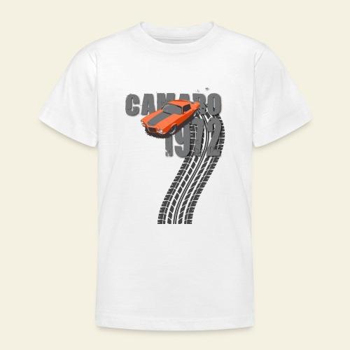 1972 camaro dark - Teenager-T-shirt