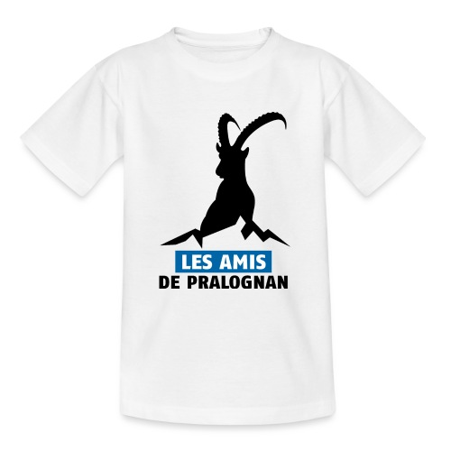 Logo Les Amis de Pralo grand noir - T-shirt Ado