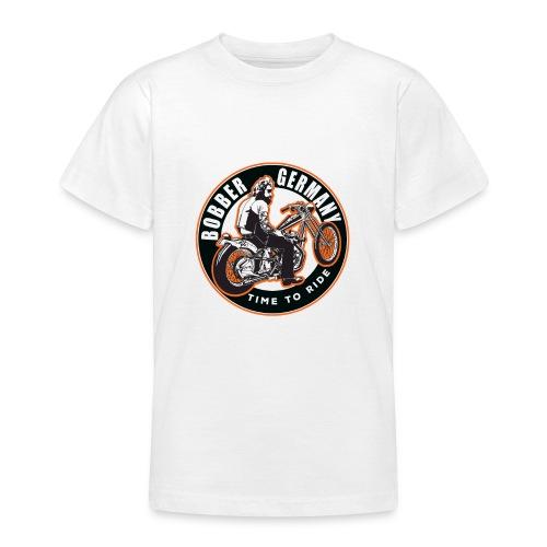 Bobber Germany - Chopper Motorrad Racing HD Custom - Teenager T-Shirt