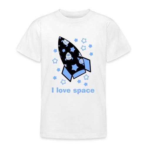 I love space - Maglietta per ragazzi