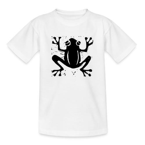 Crafty Wotnots Tree Frog - Teenage T-Shirt