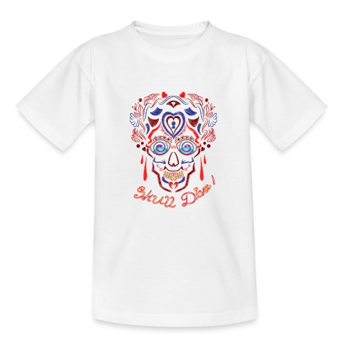 Skull Tattoo Art - Teenage T-Shirt