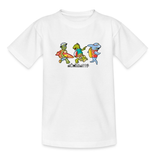 BEACH BUDDIES - Teenage T-Shirt