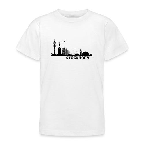 Stockholm - T-shirt tonåring