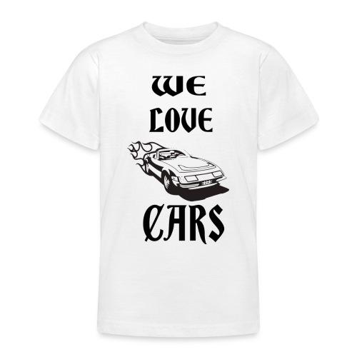 auto fahrzeug garage - Teenager T-Shirt