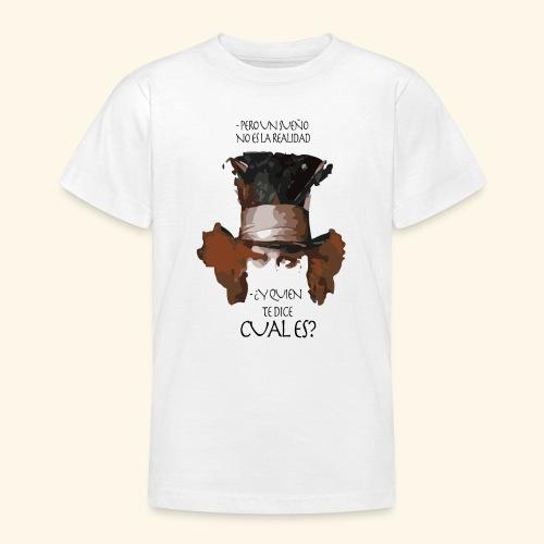 CUAL ES - Camiseta adolescente