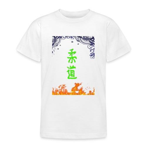 Judo On Fire - T-shirt Ado
