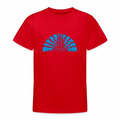 Fairytale Castle Sunrise - Teenager T-Shirt