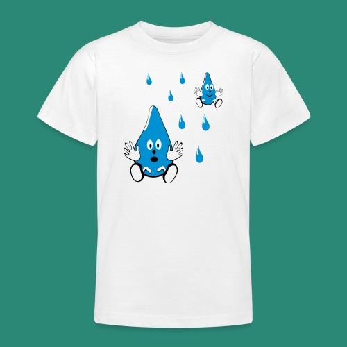 Tropfen - Teenager T-Shirt