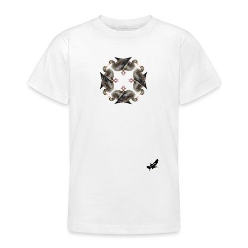'Goose Circle' by BlackenedMoonArts - Teenager-T-shirt