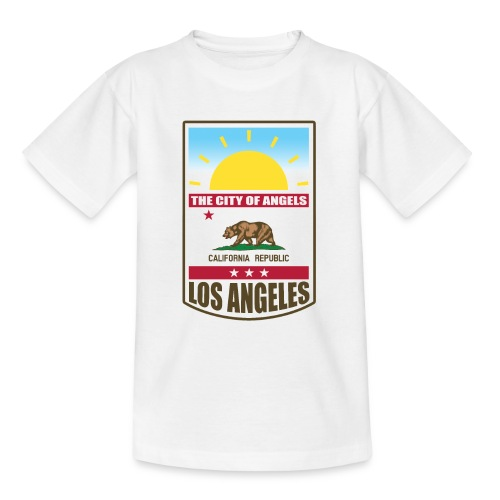 Los Angeles - California Republic - Teenage T-Shirt