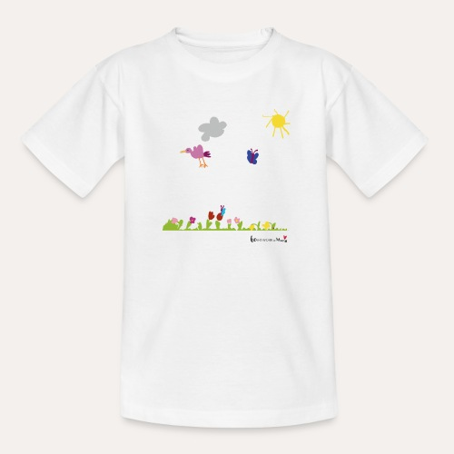 Blumenwiese von Marie - Teenager T-Shirt