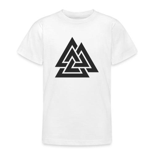 Valknut. Símbolo vikingo - Camiseta adolescente