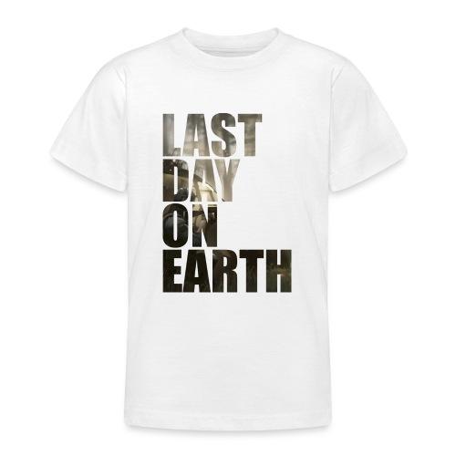 Último día en la tierra - Camiseta adolescente