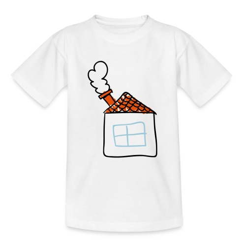 House Childs Drawing Pixellamb - Teenager T-Shirt