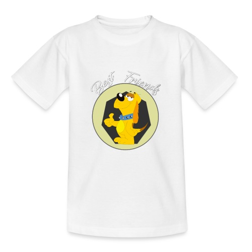 Best friends - Camiseta adolescente