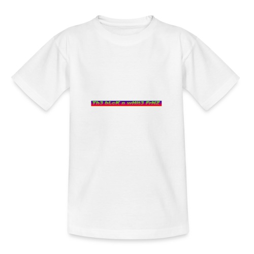 The Black and white Friends Logo - Teenager T-Shirt