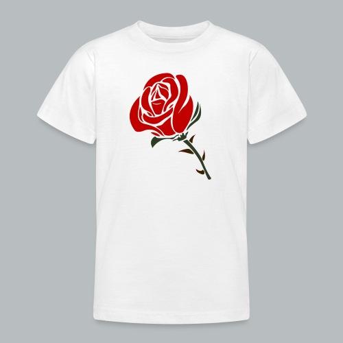 Ros - T-shirt tonåring