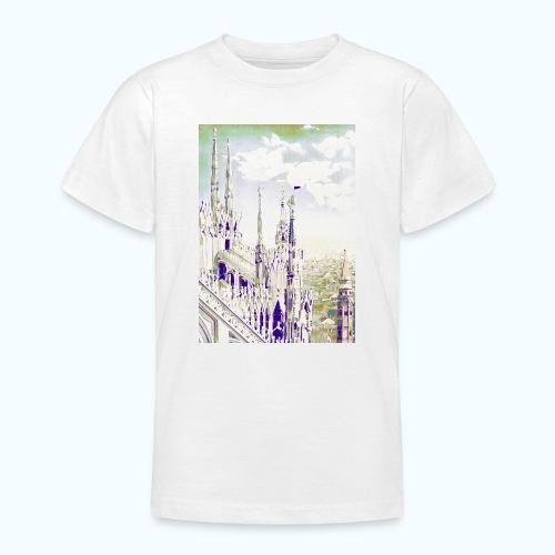 Mailand Vintage Reise Poster - Teenage T-Shirt