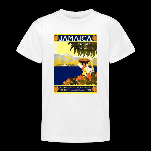 Jamaica Vintage Travel Poster - Teenage T-Shirt