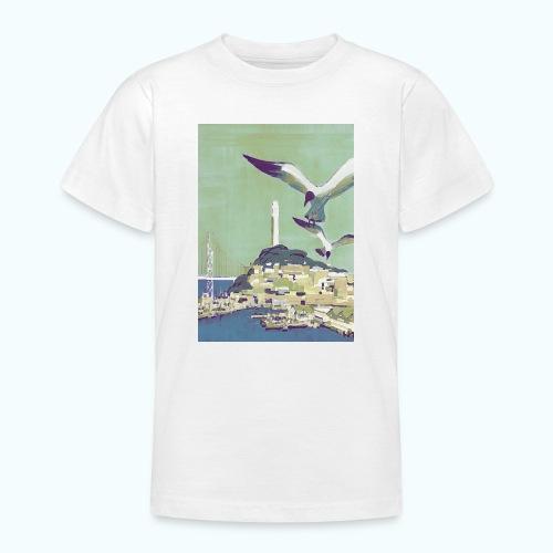 San Francisco Vintage Travel Poster - Teenage T-Shirt