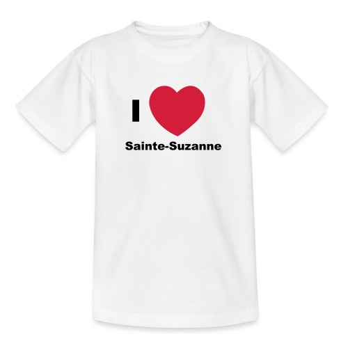 i love sainte suzanne - T-shirt Ado