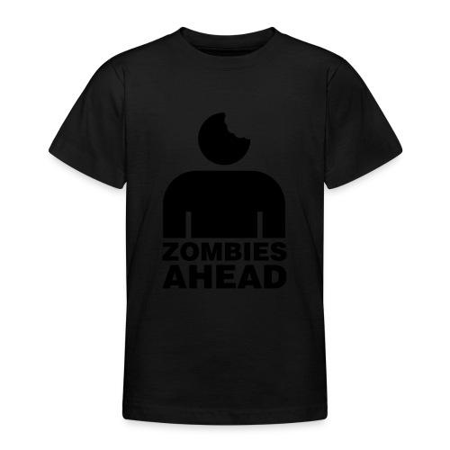 Zombies Ahead - T-shirt tonåring