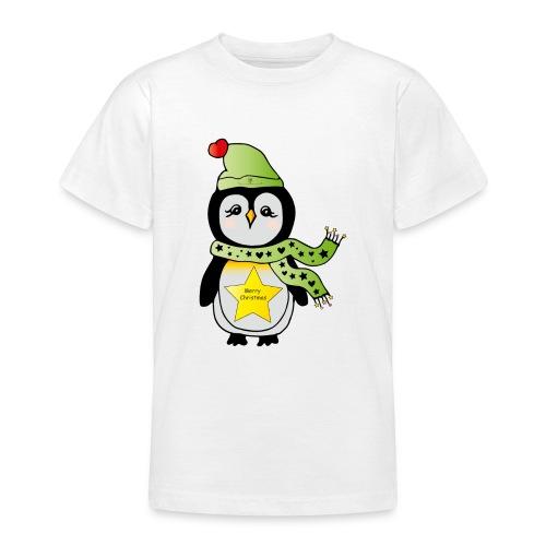 Christmas Pinguin - Teenager T-Shirt