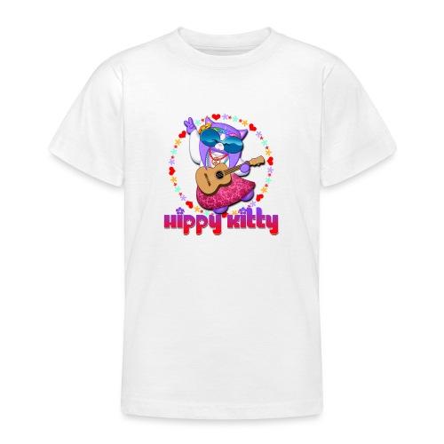 Hippy Kitty - Maglietta per ragazzi