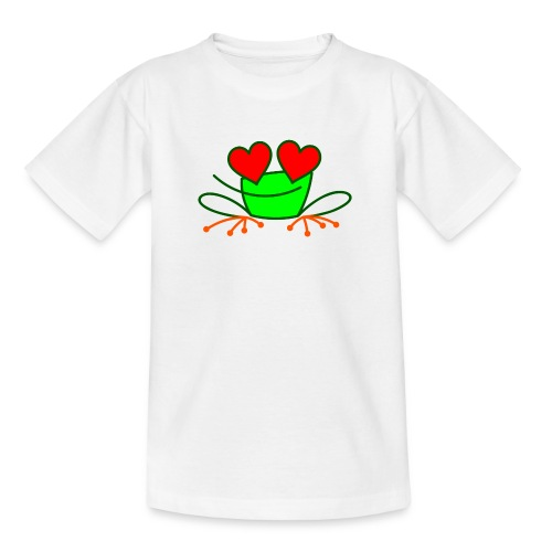 Frog in Love - Teenage T-Shirt