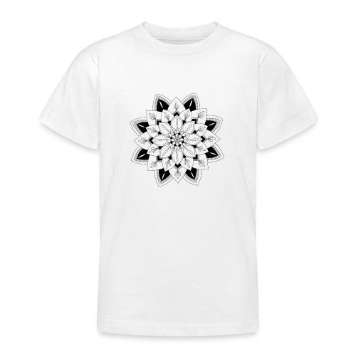 Mandala interior - Camiseta adolescente