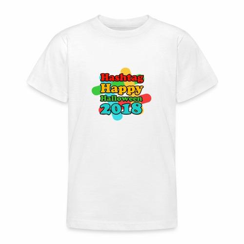 hashtag happy halloween 2018 - T-shirt Ado