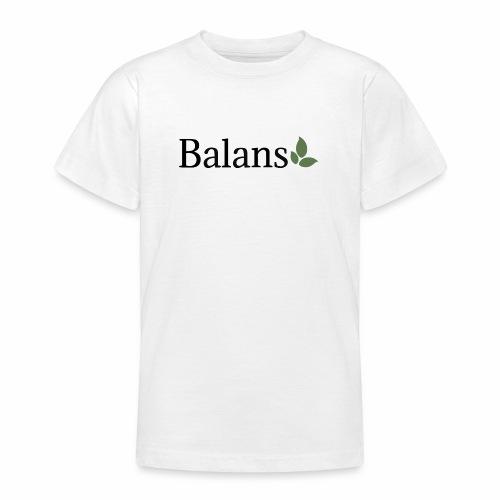 Balans - T-shirt tonåring