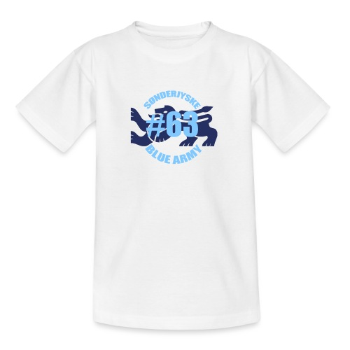SOENDERJYSKE BLUE ARMY - Teenager-T-shirt
