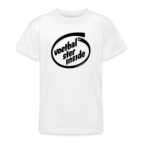 Inside voetbal - Teenager T-shirt