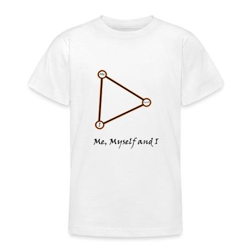 Me, Myself and I naranja - Camiseta adolescente