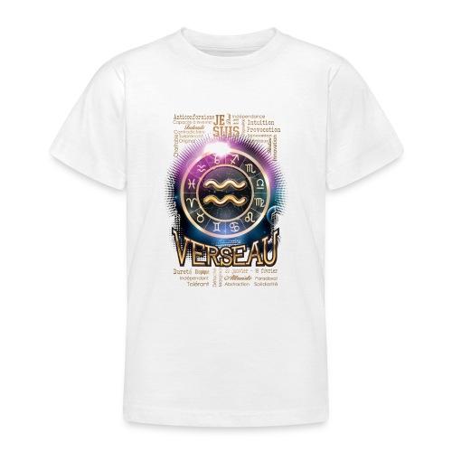 VERSEAU - T-shirt Ado