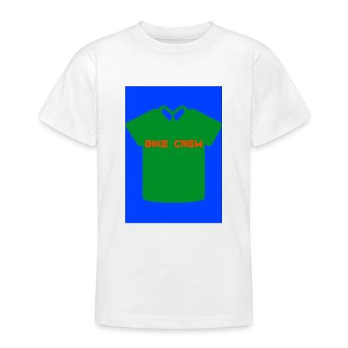 Bike Crew Merch (grün) - Teenager T-Shirt