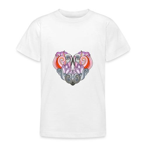 CUORE MANDALA - Maglietta per ragazzi