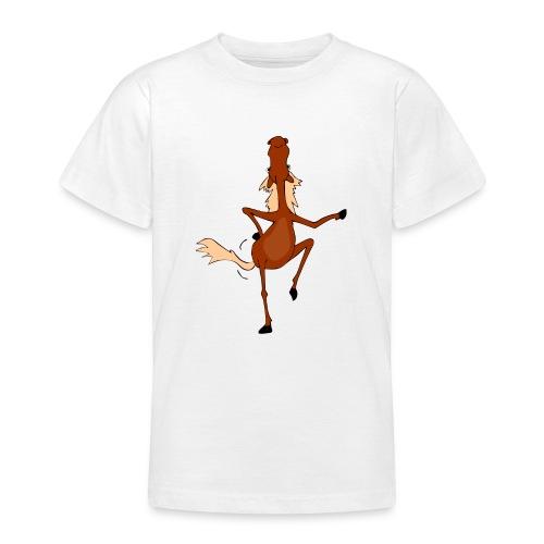 Tanzpferd - Teenager T-Shirt