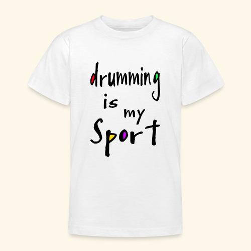 drumming - Teenager T-Shirt