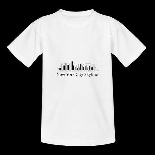 ny skyline - Teenage T-Shirt