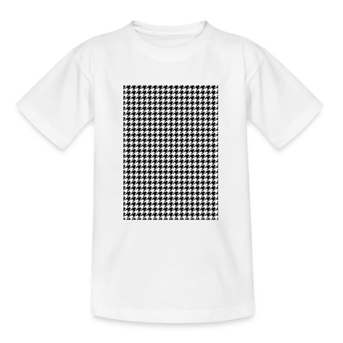 pied de poule v12 final01 - Teenager T-shirt