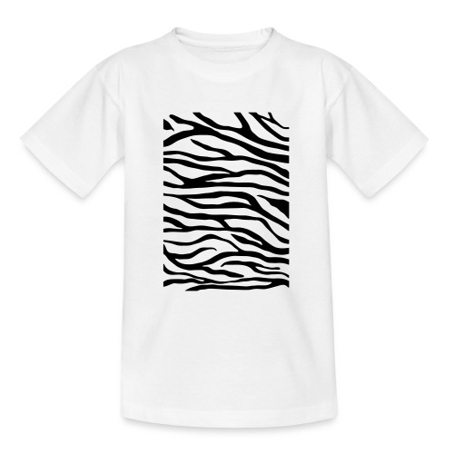zebra v6 - Teenager T-shirt