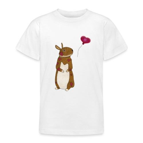 Valentine bunny - Teenage T-Shirt