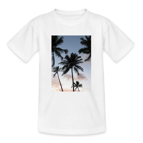 PALMTREES DOMINICAN REP. - Teenager T-shirt