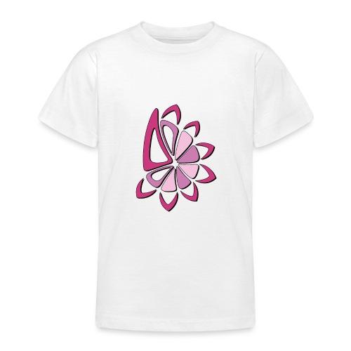spicchi di sole multicolore rosa - Maglietta per ragazzi