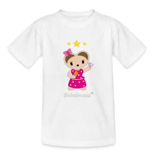 Süßes T-Shirt für junge Mädchen - Teenager T-Shirt