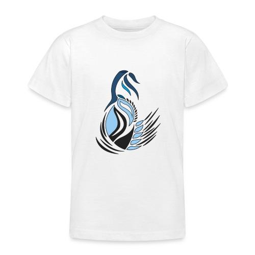 disegno bocciolo astratto - Maglietta per ragazzi